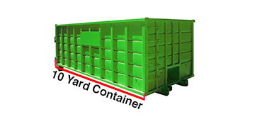 10 yard dumpster rental in Milwaukee